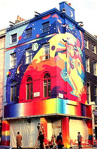 The Apple boutique on Baker Street