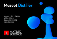 Mascot Distiller splash screen