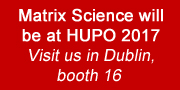 Visit us at HUPO 2017